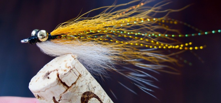 Bonefish Clouser: Pale Orange