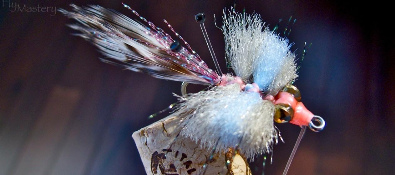 Merkin Crab: Pink & Blue