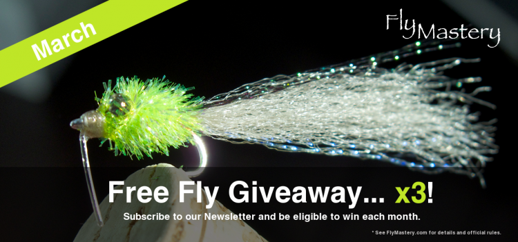 Free Fly Giveaway for March