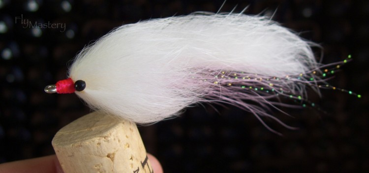 Murray's Beach Snook Streamer: White