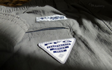 Columbia PFG Backcast Nylon Pant: Grill