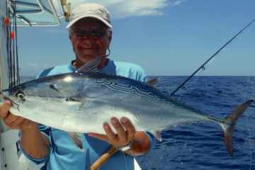 John Roetman: Mackerel Tuna on Fly
