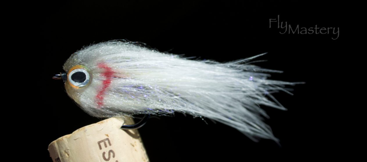 Bruiser Baitfish: Gray & White